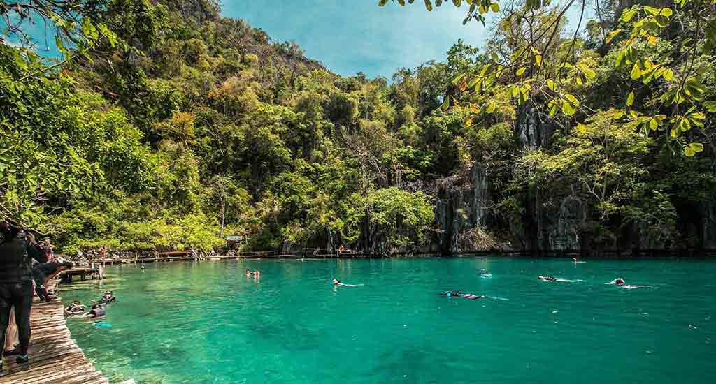 Palawan Islands in Philippines