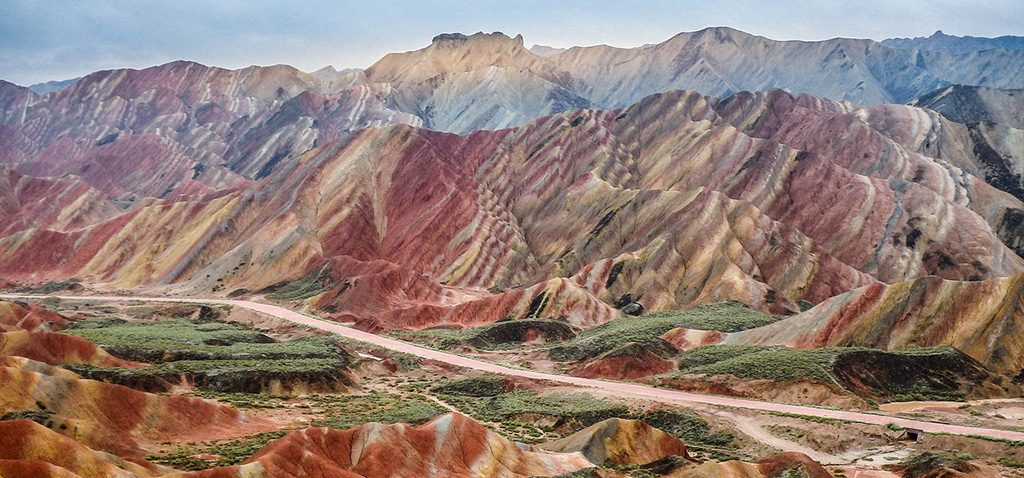 Zhangye Danxia Rainbow Mountains